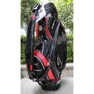 2014 Black Professional Golf Caddie Bag for Golf Clubs Men pictures & photos