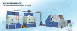 Fiber Opening /Filling Automatic Production Line for Toy & Pillow (SZBSM1000-SL2.2/8-2CM2) pictures & photos