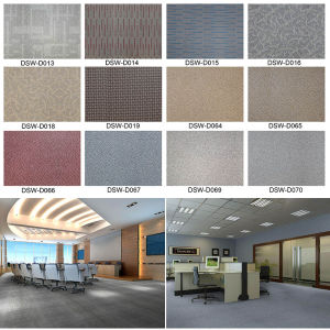 Light Weight and Non-Toxic Vinyl Lvt Flooring/Wood Plank Flooring pictures & photos