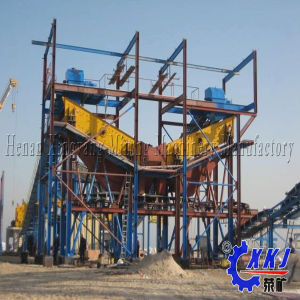 Widely Used in Home and Abroad Vibrating Screen Machine for Resin Powder pictures & photos