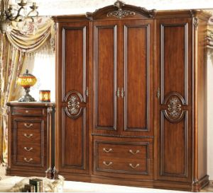 4 Door Wardrobe, Chest (XY-3033)