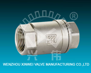 2PC Spring Female Check Valve pictures & photos