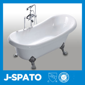 Best Selling Eco Friendly Individual Clipper Built Irregular Inexpensive  Bathtubs With Triangle Faucet