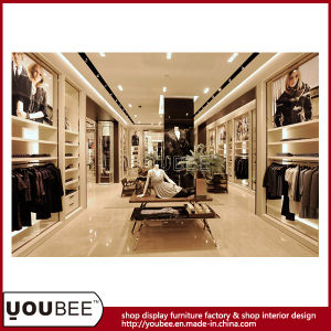 High End Wooden Display Fixtures for Luxury Ladies′ Clothes Shop Design