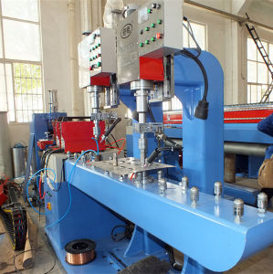 Vacuum Tube Solar Water Heater Tank Production Line pictures & photos