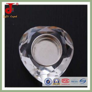 Becautiful Crystal Heart Tea Light Candlistick (JD-CH-015) pictures & photos