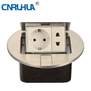 Hot Sales Eficiency Cnruihua Round German Round and Flat Floor Socket pictures & photos