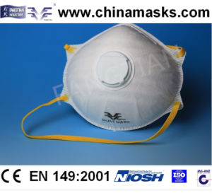 CE Disposable Nonwoven Protective Face / Dust Mask with Valve