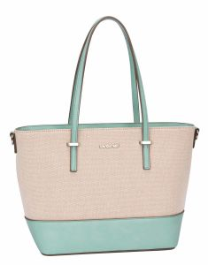 Fashion Lady Women Hobo PU Match Canvas Shoulder Bag Messenger Purse  Satchel Tote Handbag 85adb59620e9a