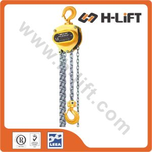 Manual Chain Hoist Pulley Block pictures & photos