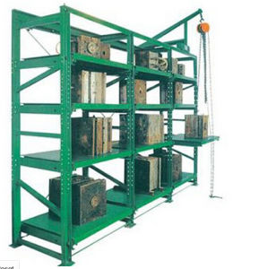 Metal Mould Shelf with Hinge Operation