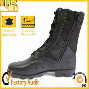 Black New Design Good Quality Military Boot Military Jungle Boot pictures & photos