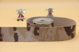 Jacquard Camouflage Army Webbing Tape pictures & photos
