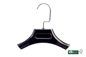 High End Beautiful Finished Hot Selling Plastic Hanger for Garment pictures & photos