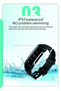 OEM ODM Bluetooth Smart Sport Fitness Bracelet Watch pictures & photos