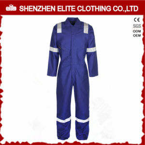 Reflective Tape Fire Retardant Coveralls Manufacturer in China (ELTCVJ-65) pictures & photos