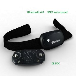 Bluetooth 4 0 Bodyfit Waterproof Heart Rate Monitor Chest Strap Men Women  Sports Running Hunting Fitness Suitable Cr2032 Battery
