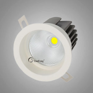 Die-Cast Aluminum LED COB Downlight 15W Td-318 pictures & photos