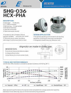 Shg Top Brand Vacuum Cleaner Motor pictures & photos