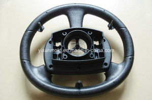 Car Steering Wheel Plastic Shell Plastic Injection Mould pictures & photos