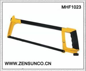 High Quality Square Tubular Hacksaw Frame with Aluminium Handle Soft Grip Hacksaw pictures & photos