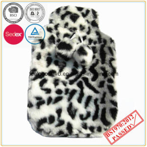 Hot Water Bottle with Leopard Faux Fur Cover pictures & photos