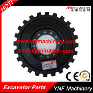Flexible Black Comperssor Coupling for Kobelco 445*24t pictures & photos