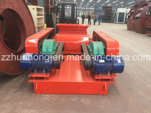 Alibaba Double Tooth Roll Rock Crusher / Teeth and Smooth Roll Crusher Manufacturer pictures & photos