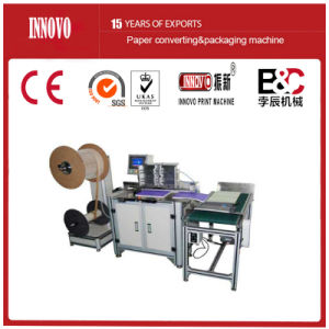 Semi Automatic Double Wire Binding Machine (DWB520) pictures & photos