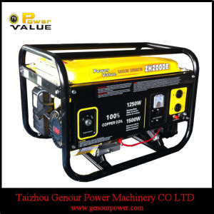 Silent Type China 2kw 2kVA Generator Alternator 220V pictures & photos