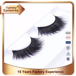 3D Mink Material and Hand Made Type 3D Real Mink Fur Lashes pictures & photos