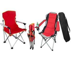 High Quality Folding Camping Chair with Armrest (SP-112) pictures & photos