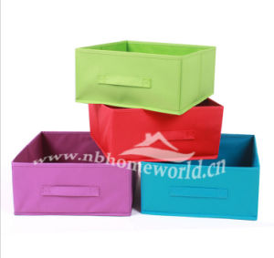 Home Decorative Custmized Non Woven Storage Box Without Lid