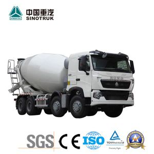 Low Price HOWO T7h Mixer Truck with 8X4 pictures & photos