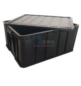 ESD Container Anti-Static Stacking Box pictures & photos
