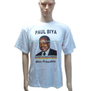 Plain T-Shirt for Election Campaign and Promotional Use pictures & photos