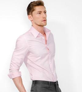China Slim Fit Fashion Stylish Pink Shirt For Men China Shirt