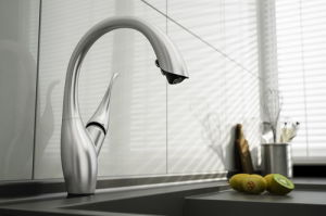 Upc Intelligent Touch Sense Spray Pull Out Automatic Kitchen Faucets Tk 201lt74