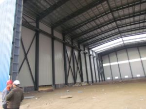 Workshop with Steel Structure pictures & photos