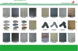 Neolite Texture Rubber Sheet for Shoe Sole Material pictures & photos