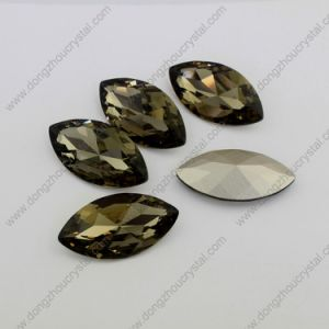 Black Diamond Oval Crystal Elements From Manufacturer Direct Wholesale Sales pictures & photos