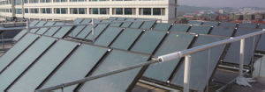 Flat Plate Solar Panel for Water Heating pictures & photos