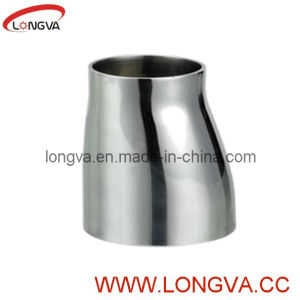 Stainless Steel Sanitary Butt-Weld with Straight Ends Eccentric Reducer pictures & photos