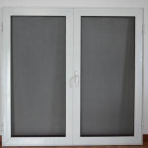 High Quality Aluminum Profile Casement Window with Multi Lock Stainless Steel Screen K03027