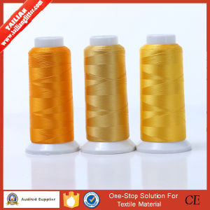 High Quality Reflective 100% Rayon Embroidery Thread pictures & photos