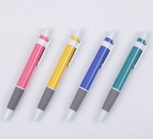 Guangzhou Stationery Market Offer Cheap Plastic Ball Point Pen Tc-6035