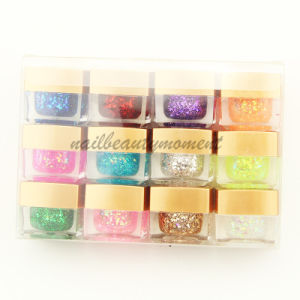 Wholesale Nail Art Beauty Builder Glitter Sparkle Gel Kit (UG02)
