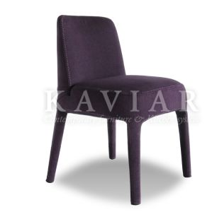 Kaviar Modern Colourful Whole Upholstered Chair Covered with Fabric (RH109)