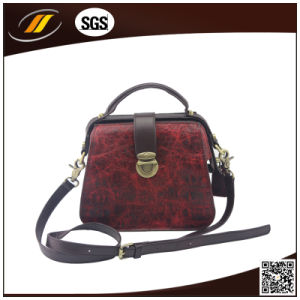 Custom 100%Genuine Leather Trend Leather Handbag (HJ0516)