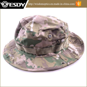 Fishing Hunting Bucket Jungle Cotton Military Boonie Hat pictures & photos